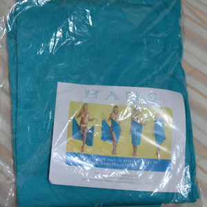 Beach HAUS Bunny Swim - BEACH COVER UP WRAP TURQUOISE Blue NEW  M L XL